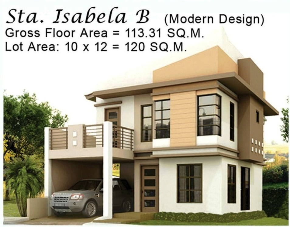 Philippines subdivision house design home design and style for New house designs and prices
